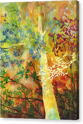 In The Woods Canvas Print by Hailey E Herrera