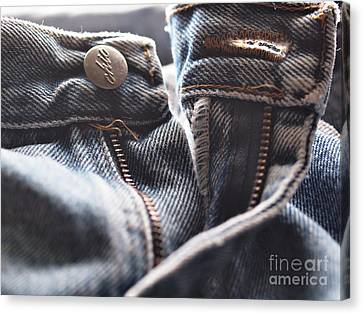 In Those Jeans Canvas Print by Valerie Morrison