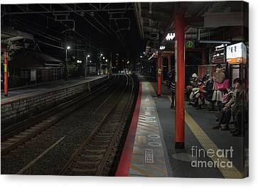 Inari Station, Kyoto Japan Canvas Print