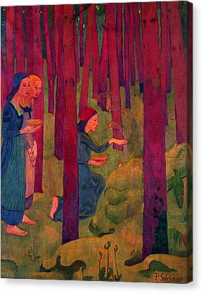 Incantation Canvas Print by Paul Serusier