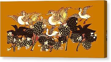 Incarnation Canvas Print - Incarnation by Asok Mukhopadhyay