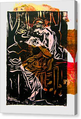 Incense Box 3 Canvas Print by Adam Kissel