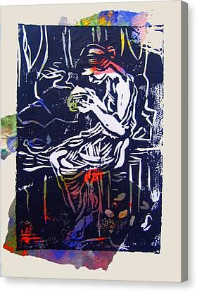 Incense Box 4 Canvas Print by Adam Kissel