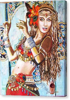 Incense Canvas Print by Stephanie Bolton