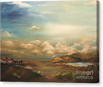 Incentive Canvas Print by Carol Sweetwood