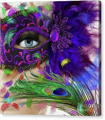Incognito Canvas Print by LemonArt Photography
