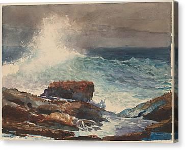 Incoming Tide - Scarboro - Maine Canvas Print