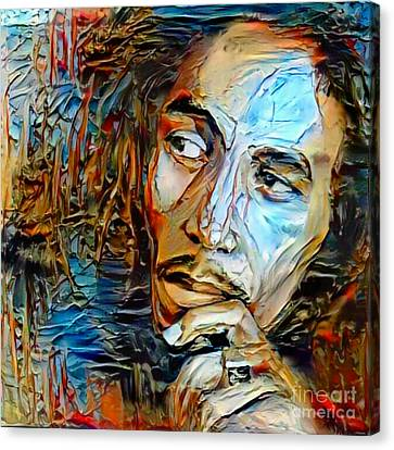 Incomparable Bob Marley  Canvas Print