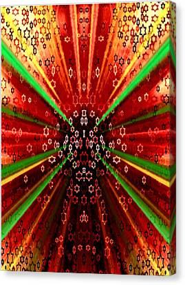 Increase Ten Fold Canvas Print by Devorah Fraser