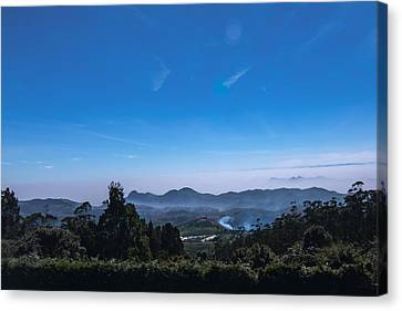Incredible India - View From Doddabetta Canvas Print