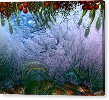 Incursion Into The Inversion Canvas Print by Casey Kotas