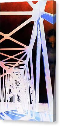 Canvas Print featuring the photograph Indefinite Sight In by Jamie Lynn