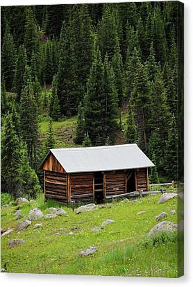 Independence Cabin Canvas Print by Connor Beekman
