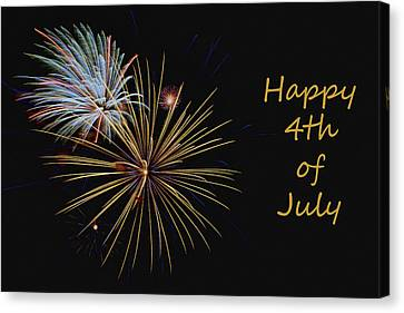 Independence Day - Fireworks Canvas Print