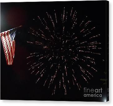 American Independance Canvas Print - Independence Day by Gina Sullivan