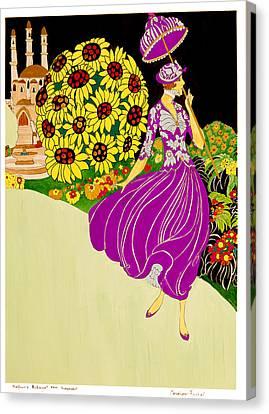 Rubaiyat Canvas Print - Independent by Carolynn Fischel
