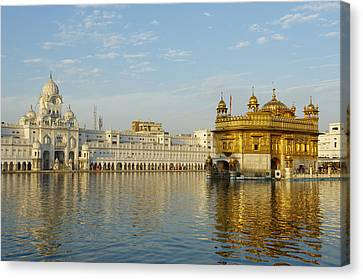 Punjab Canvas Print - India, Penjab, Amritsar, Golden Temple by Bruno Morandi