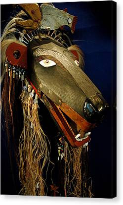 Indian Animal Mask Canvas Print