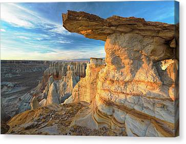 Indian Canyon Canvas Print by Christian Heeb