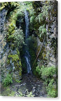 Canvas Print featuring the photograph Indian Canyon Waterfall by Ben Upham III