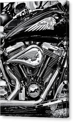 2001 Canvas Print - Indian Chief Centennial Motorcycle by Tim Gainey