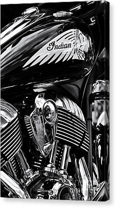 Indian Chieftain Canvas Print