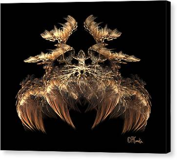 Indian Feather Headdress 5 Canvas Print
