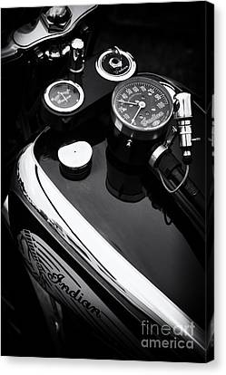 Speedometer Canvas Print - Indian Four Abstract by Tim Gainey