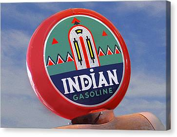 Indian Gas Globe Canvas Print
