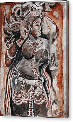 Indian Heratage-2 Canvas Print by Anand Swaroop Manchiraju