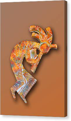Indian Icon Kokopelli Canvas Print
