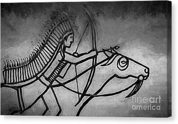 Indian Memorial Canvas Print by Sharon Seaward