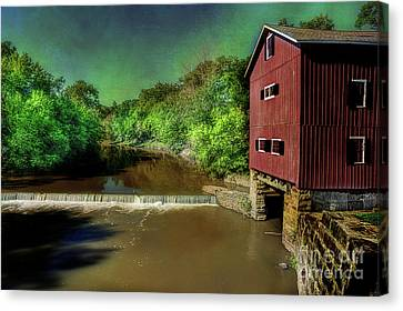 Indian Mill Canvas Print by Michael Eingle