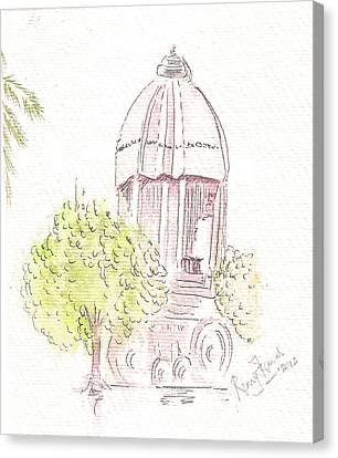 Indian Monument - Valluvarkottam Canvas Print by Remy Francis