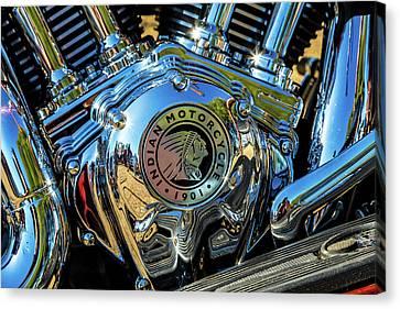 Indian Motor Canvas Print by Keith Hawley