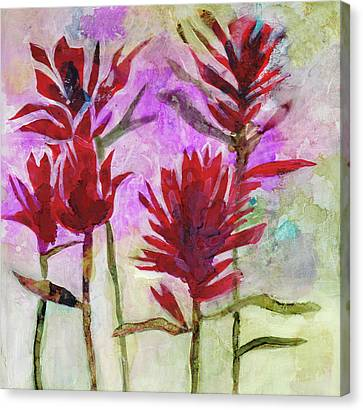 Indian Paintbrush Canvas Print by Julie Maas