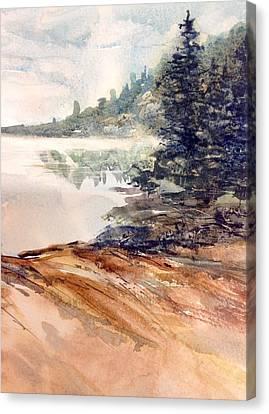 Indian Portage Canvas Print by Sarah Guy-Levar