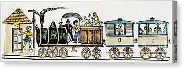 Sikhism Canvas Print - Indian Railway, C1870 by Granger