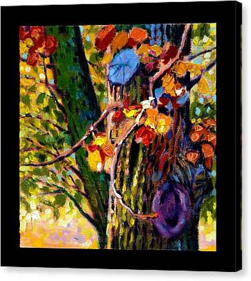 Indian Summer Detail Eight Canvas Print by John Lautermilch
