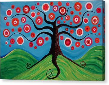 Indian Summer Canvas Print by Pamela Cisneros