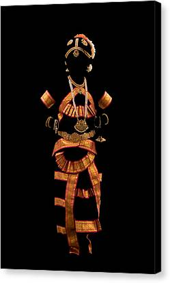 Indian -temple Jewellery Canvas Print