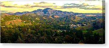 Indian Valley Canvas Print by Cadence Spalding