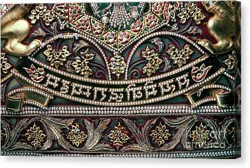 Canvas Print featuring the photograph Indian Wall Hanging by Granger