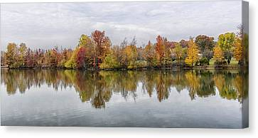 Indiana Autumn Canvas Print by Alan Toepfer