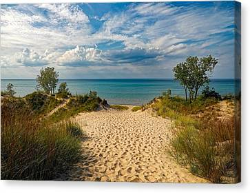 Indiana Landscapes Canvas Print - Indiana Dunes State Park by Pixabay