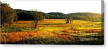 Indiana Farmland  Canvas Print