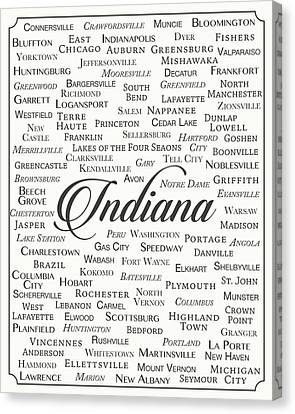 Indiana Canvas Print by Finlay McNevin