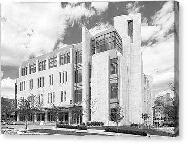 Big East Conference Canvas Print - Indiana University East Studio Building by University Icons