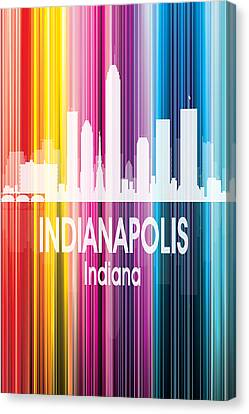 Indianapolis In 2 Vertical Canvas Print by Angelina Vick