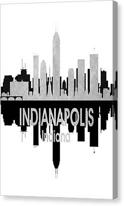 Indianapolis In 4 Vertical Canvas Print by Angelina Vick